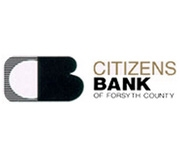 The Citizens Bank of Forsyth County logo