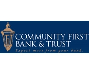 Community First Bank & Trust logo