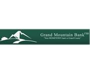 Grand Mountain Bank, Fsb logo