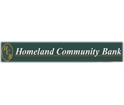 Homeland Community Bank logo