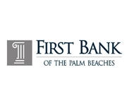 First Bank of the Palm Beaches logo