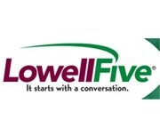 The Lowell Five Cent Savings Bank logo