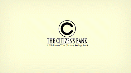 The Citizens Savings Bank logo