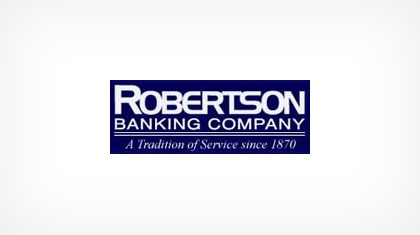 Robertson Banking Company logo