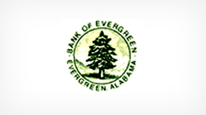 Bank of Evergreen logo