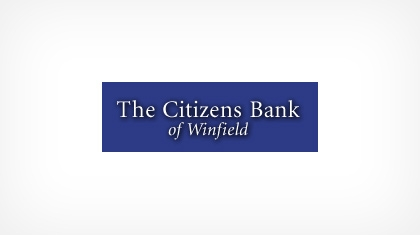 The Citizens Bank of Winfield logo