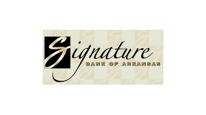 Signature Bank of Arkansas logo