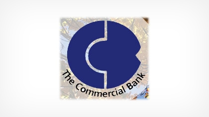 The Commercial Bank (Crawford, GA) Logo