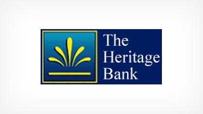 The Heritage Bank (Hinesville, GA) logo