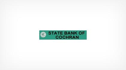State Bank of Cochran logo