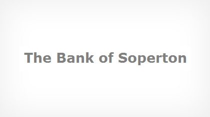 The Bank of Soperton logo