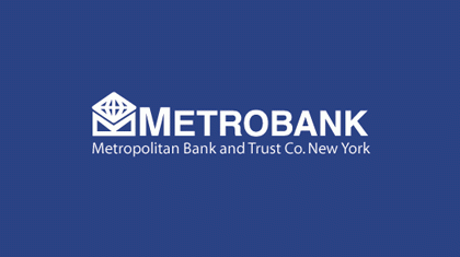 Metropolitan Bank and Trust Company logo