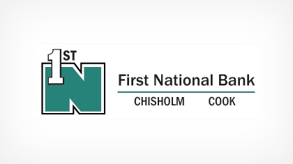 First National Bank (Chisholm, MN) logo
