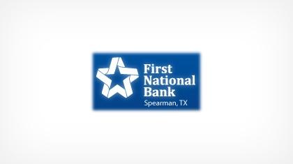 First National Bank (Spearman, TX) logo