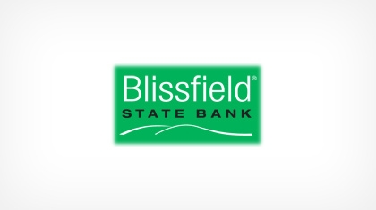 The Blissfield State Bank logo