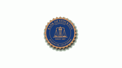 Bank of Stockton logo