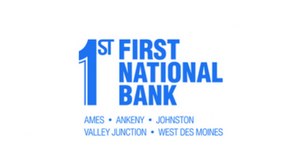 First National Bank, Ames, Iowa logo