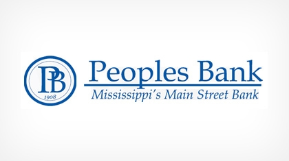Peoples Bank (Mendenhall, MS) logo
