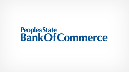Peoples State Bank of Commerce logo