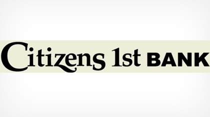 Citizens 1st Bank logo