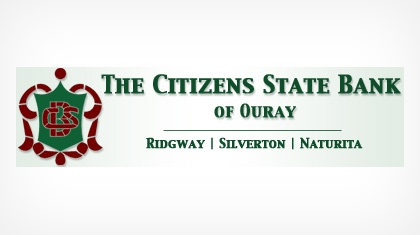 The Citizens State Bank of Ouray Logo