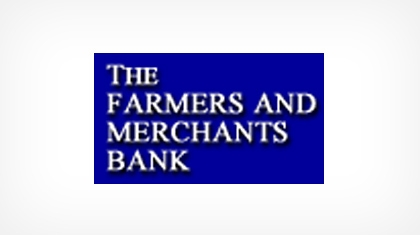 The Farmers and Merchants Bank (Caldwell, OH) logo