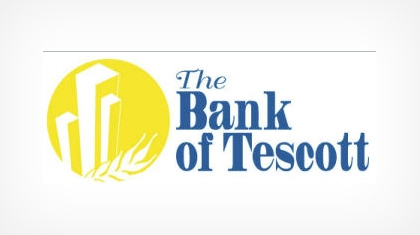 The Bank of Tescott logo