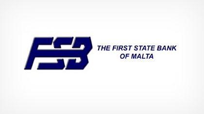 The First State Bank of Malta Logo