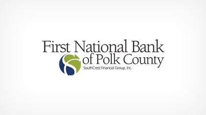 The First National Bank of Polk County logo