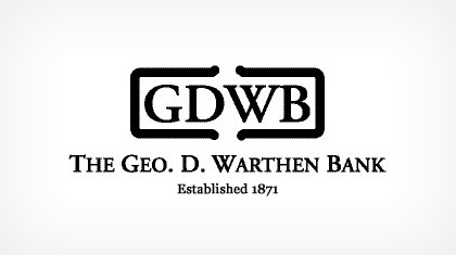 The Geo. D. Warthen Bank logo