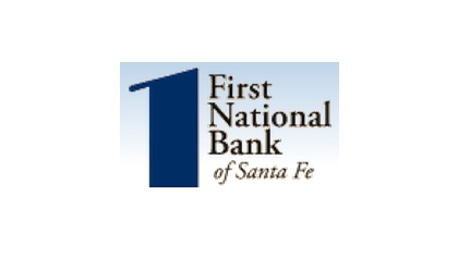 The First National Bank of Santa Fe logo