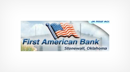 First American Bank (Stonewall, OK) logo