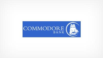 Commodore Bank logo