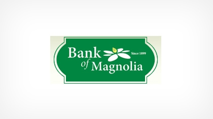 The Bank of Magnolia Company Logo