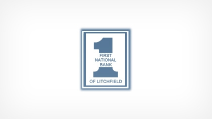 The First National Bank of Litchfield (Litchfield, IL) logo
