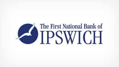 The First National Bank of Ipswich logo