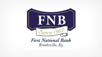 The First National Bank of Brooksville logo
