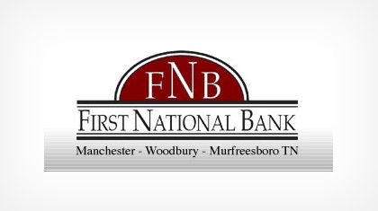 The First National Bank of Manchester (Manchester, TN) logo