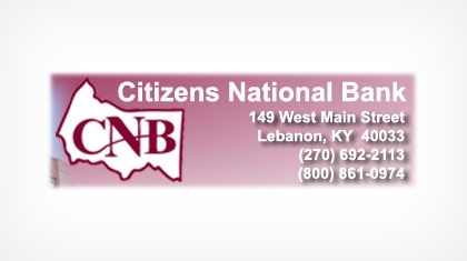 The Citizens National Bank of Lebanon logo