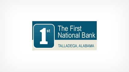 The First National Bank of Talladega Logo