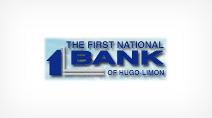 The First National Bank of Hugo logo