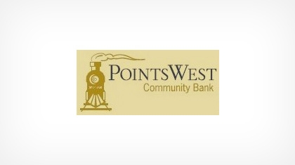 Points West Community Bank logo