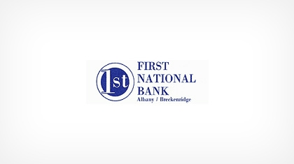 The First National Bank of Albany Logo