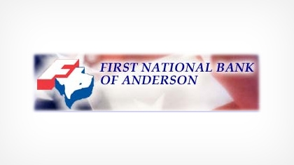 The First National Bank of anderson logo