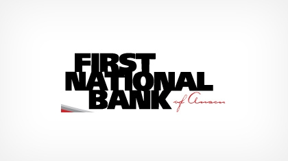The First National Bank of Anson logo