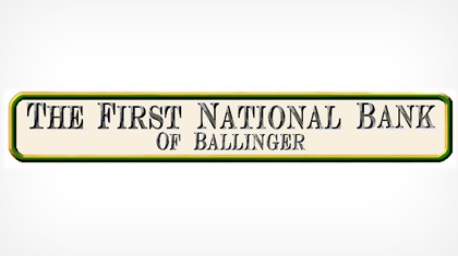 The First National Bank of Ballinger Logo