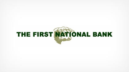 The First National Bank of Beeville logo