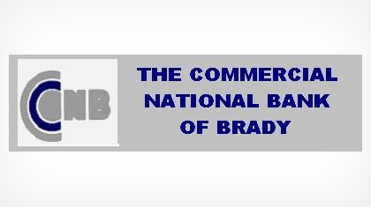 The Commercial National Bank of Brady logo
