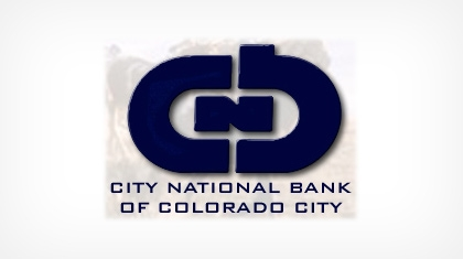 The City National Bank of Colorado City logo