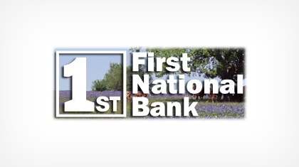 First National Bank of Giddings logo